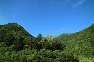 南アルプス 北岳(標高3193m)